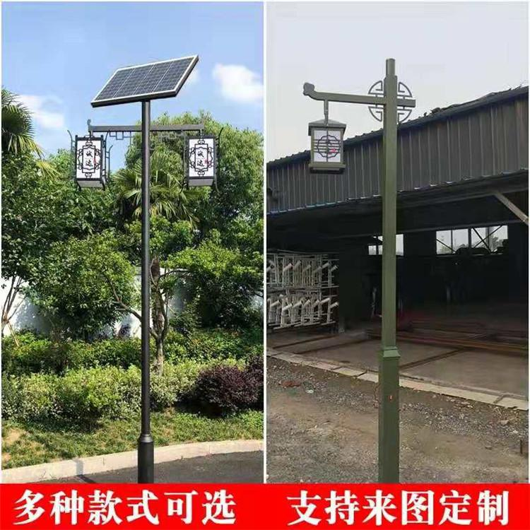 太陽能監控路燈新農村太陽能路燈定製光伏路燈廠家直供工程路燈