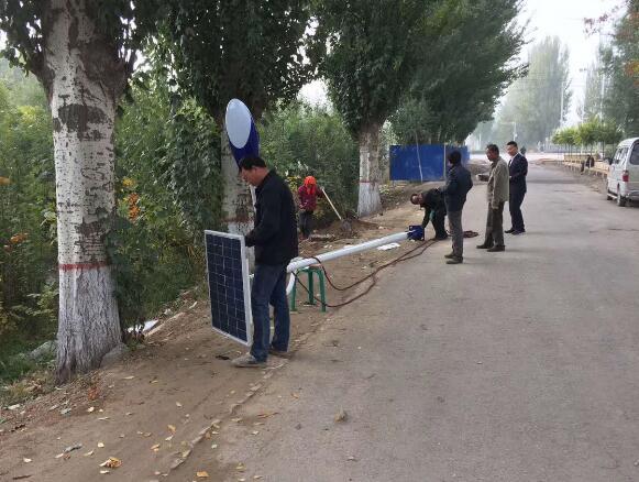 吴忠太阳能路灯工程