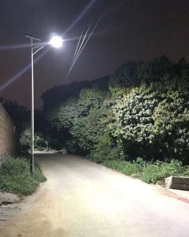 渭南太阳能路灯项目