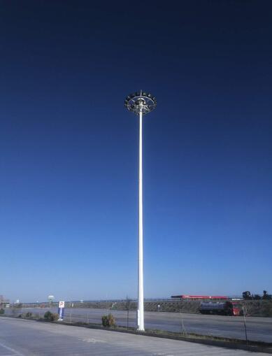 光普照明厂家生产太阳能路灯之高杆灯
