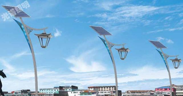 太阳能路灯监控杆的技术工作原理