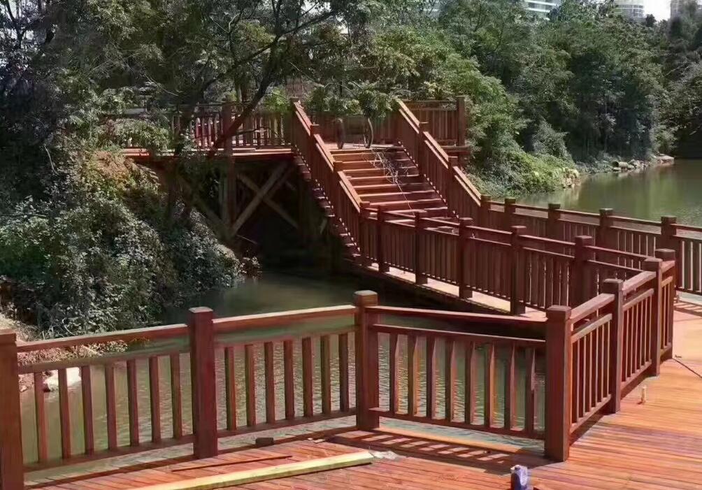 襄阳防腐木木栈道