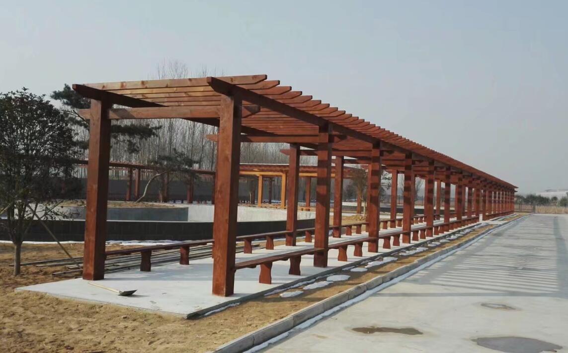襄阳防腐木廊架
