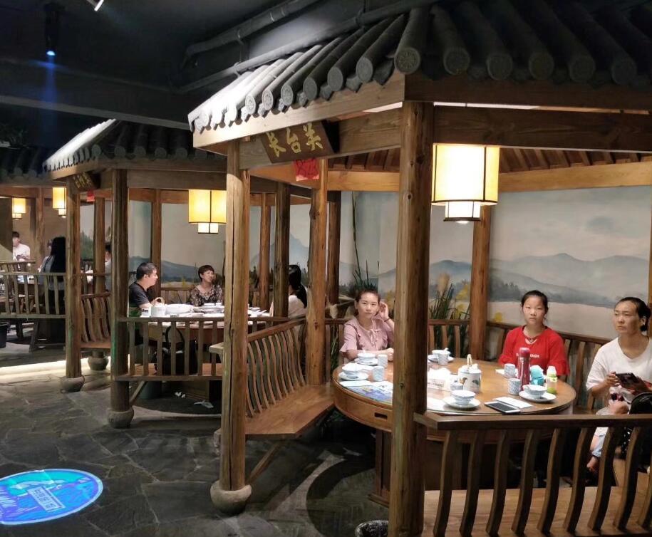 襄阳户外餐厅凉亭