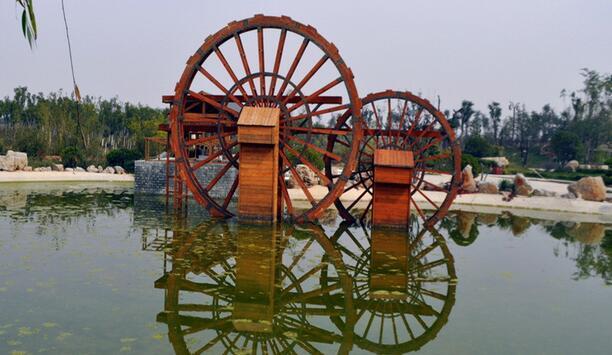 襄阳防腐木水车
