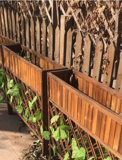 木栅栏样式