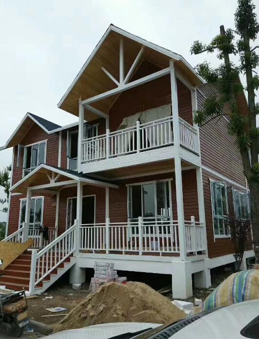双层防腐木木屋 欧式风格保温环保木屋