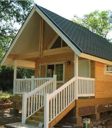 纯防腐木结构木屋建造厂家