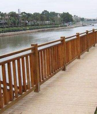 襄阳木护栏  防腐木栏杆定制