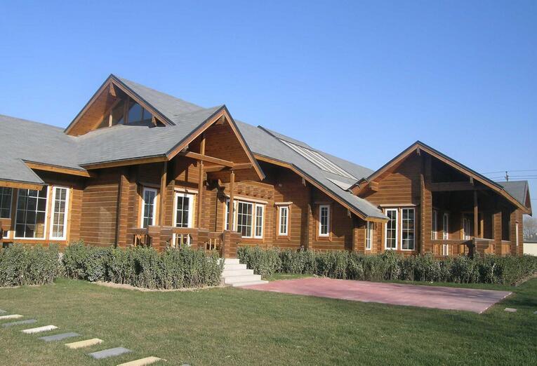 防虫蛀木屋