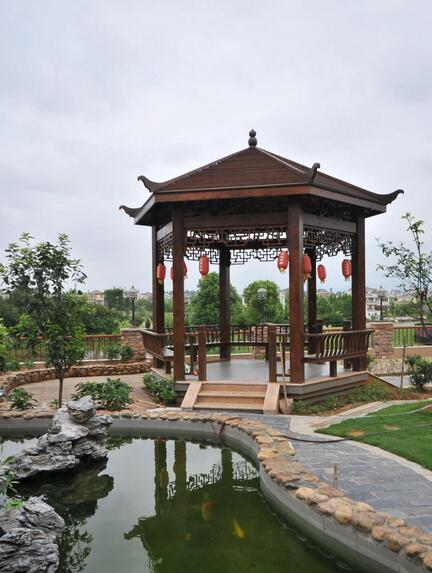 襄阳凉亭结构