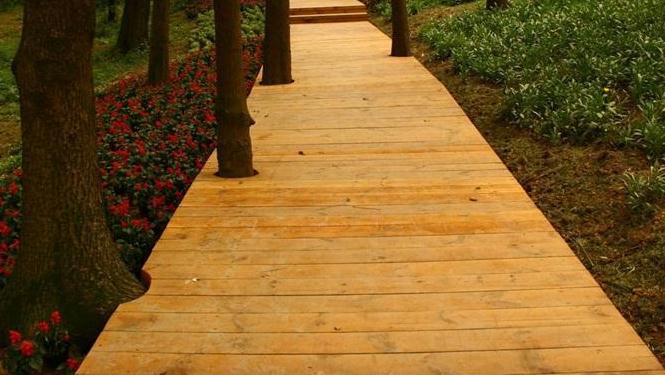 关于防腐木木栈道的性能优势有几点呢?