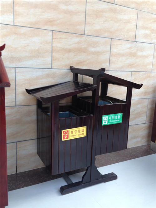 四川垃圾桶果皮箱成功案例