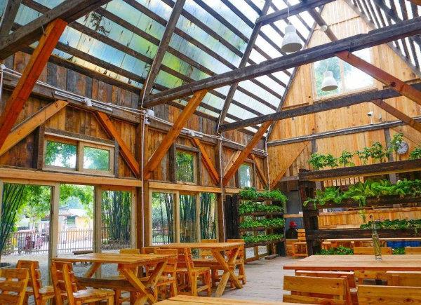 成都生态餐厅施工现场