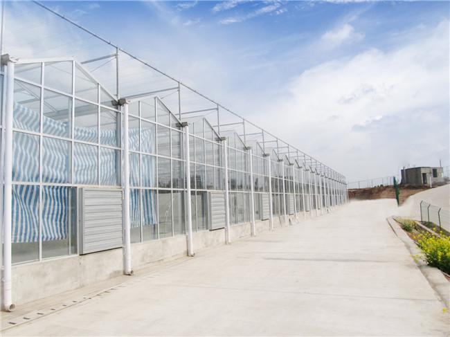 玻璃温室搭建