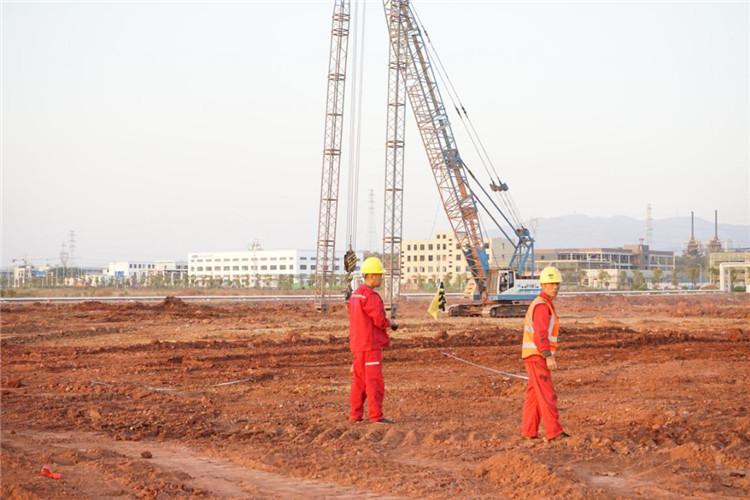 安庆会通新材料有限公司强夯地基处理项目