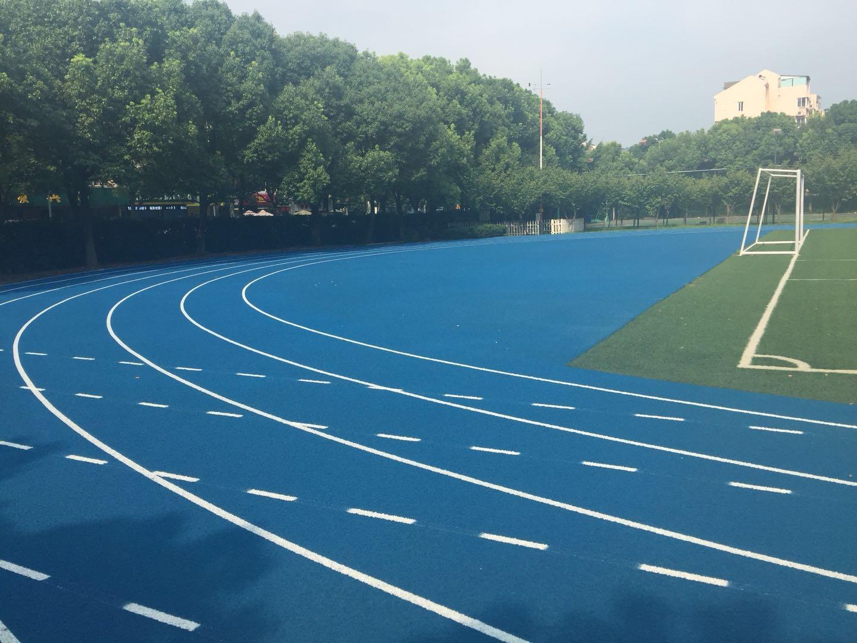 河南塑胶跑道施工案例