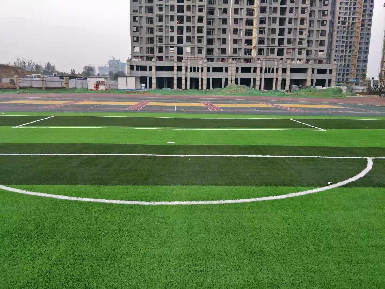 郑州市中牟县紫薇路中小学足球场