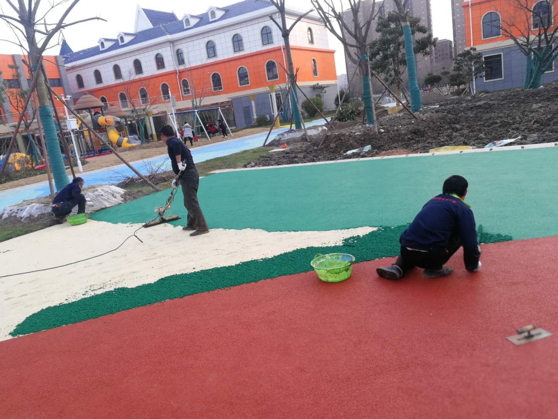 EPDM幼儿园场地施工