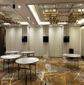 绵阳长虹酒店二楼宴会厅成功案例