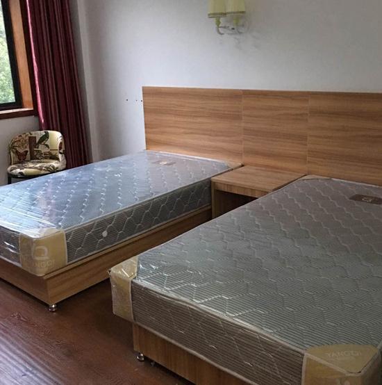 西安酒店标间家具定制案例