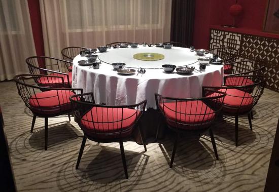 酒店餐桌餐椅定制成功案例