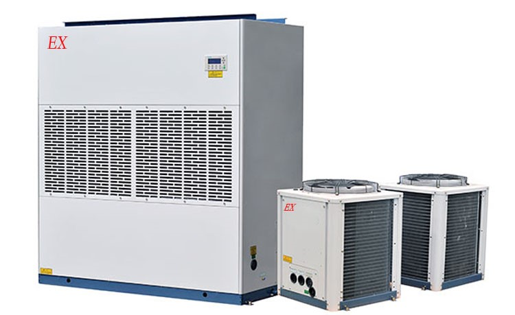 Shaanxi explosion-proof fan air-conditioning installation case