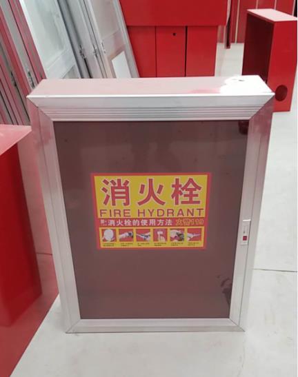 为某区政委办公楼提供陕西消火栓箱定制业务