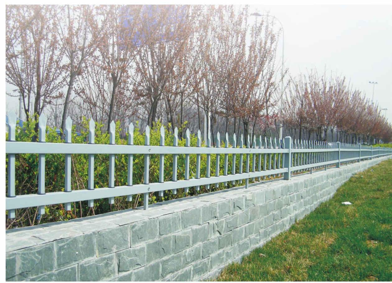 陕西红运草坪护栏