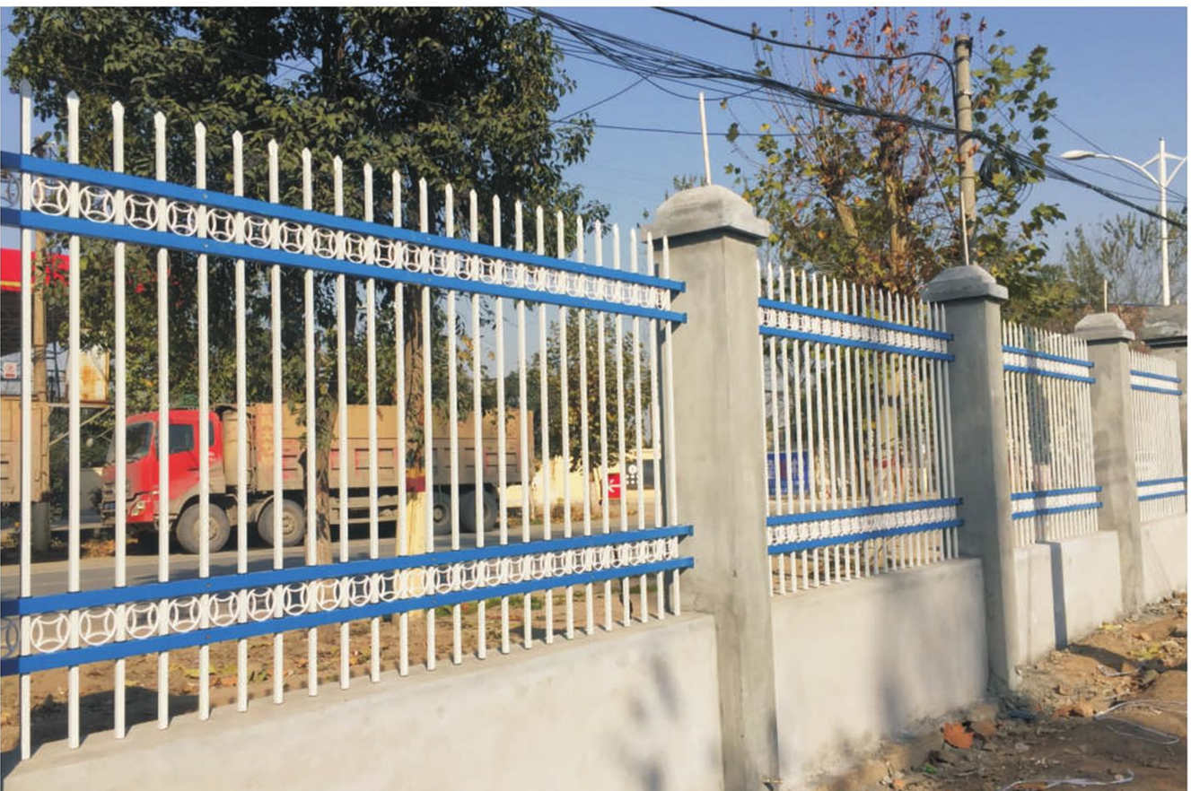 四横杆锌钢喷塑栅栏
