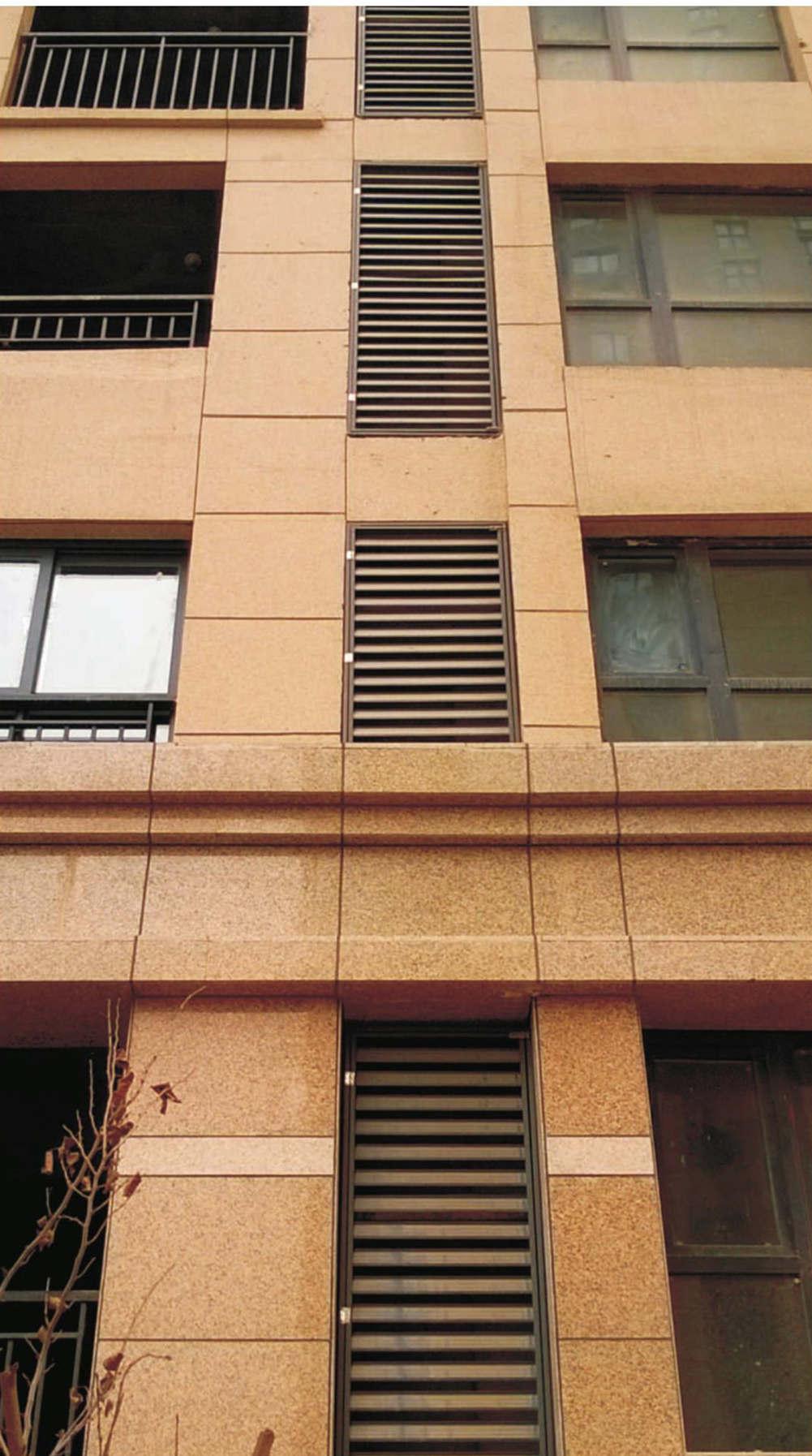 锌钢喷塑百叶窗