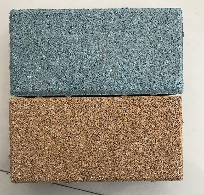 益新水泥:陶瓷透水砖,透水砖,陶瓷颗粒透水砖特点解析