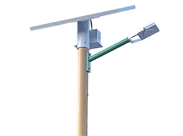 小功率太阳能景观灯灯杆造型