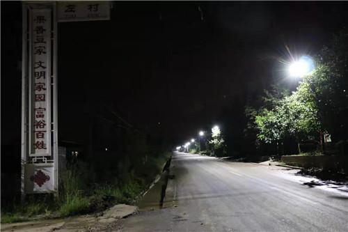 陕西太阳能路灯案例图
