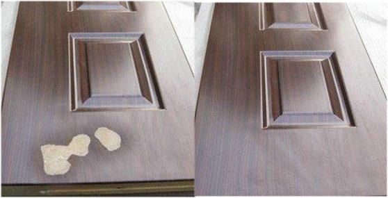 门修复对比