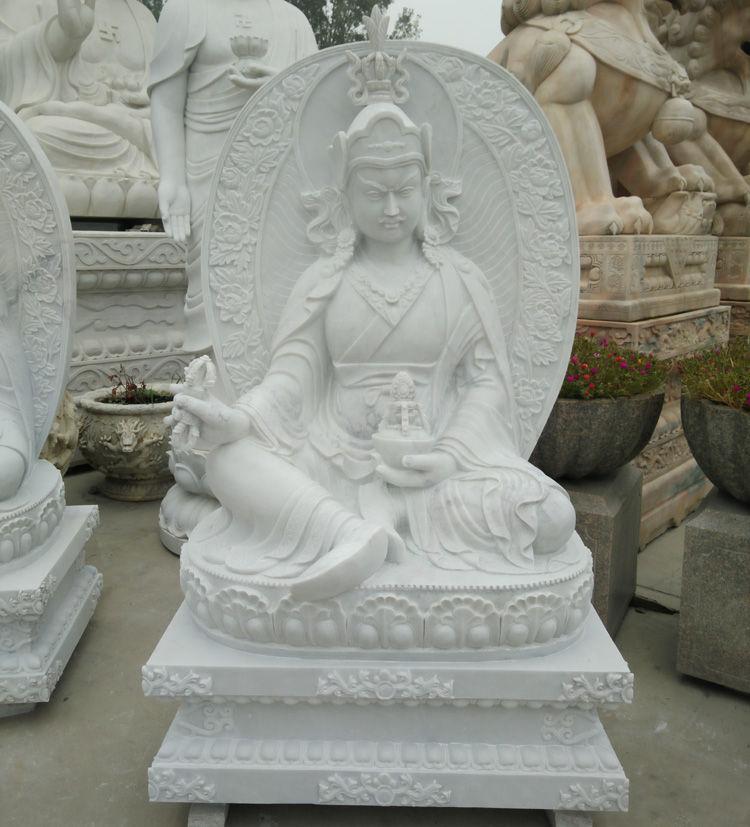 汉白玉坐像释迦摩尼佛雕塑