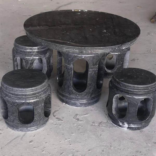 富丰园林石桌凳设计