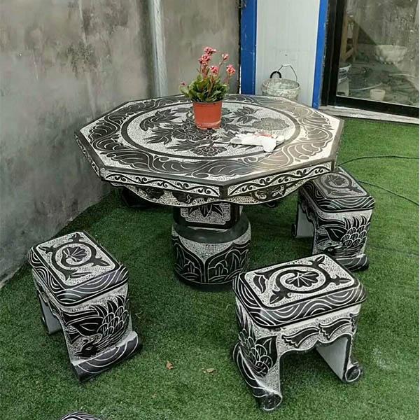 石桌凳施工