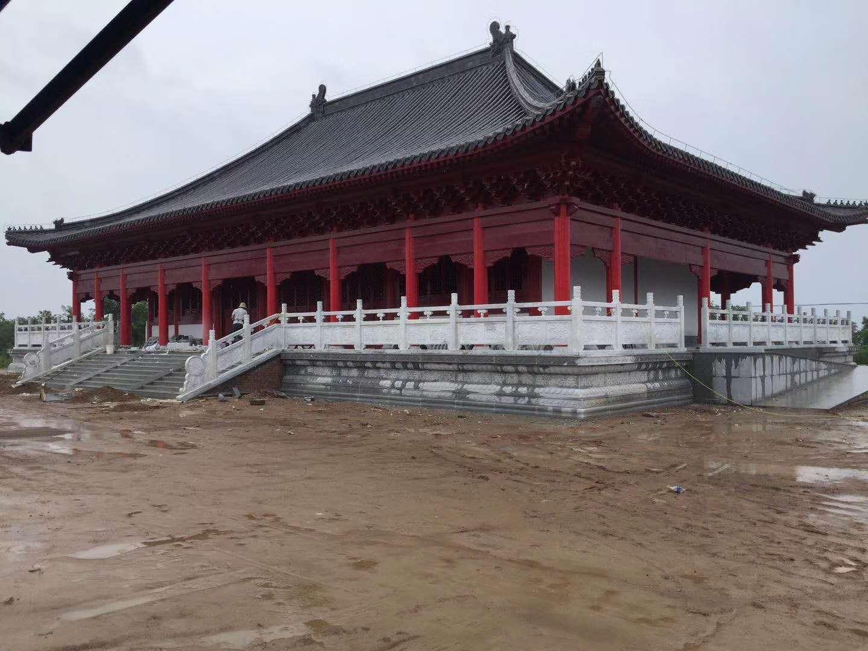 陕建集团石栏杆合作施工案例展示