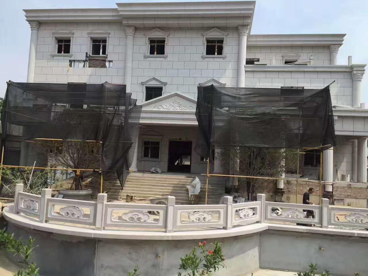 中建六局石栏杆合作案例