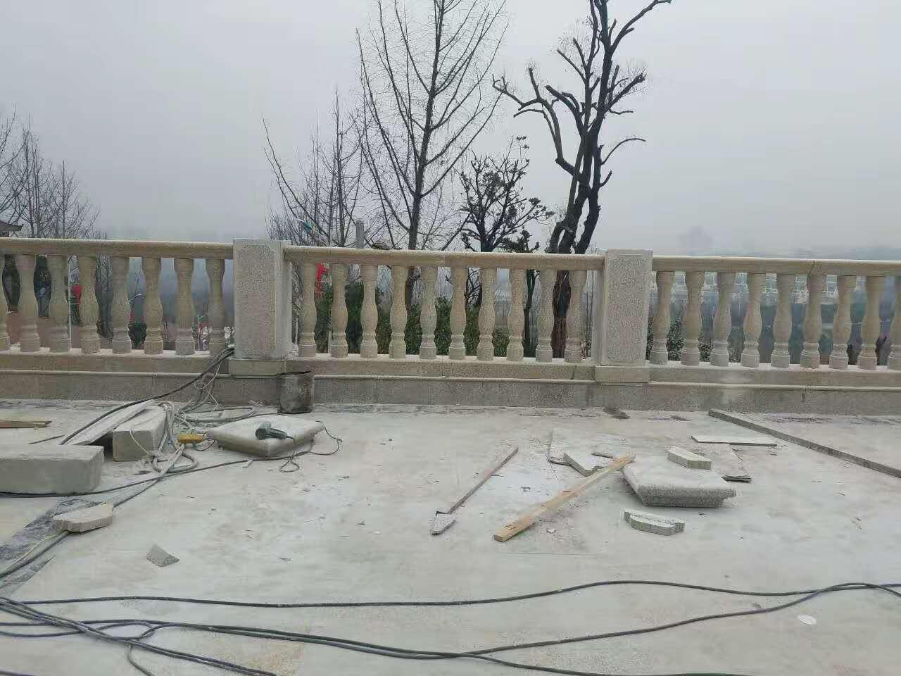 渭南上上房地产石栏杆合作案例