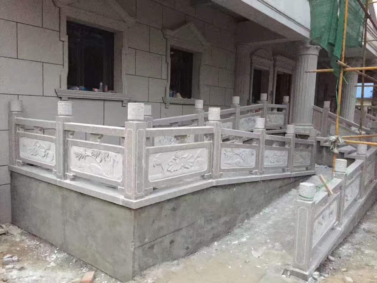 陕西石栏杆施工案例