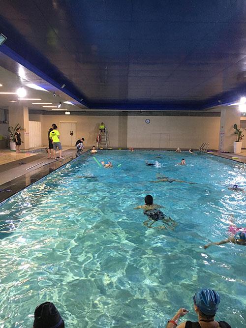 四川游泳池-室内恒温池案列