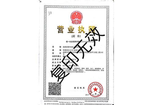 鼎黎资质证书