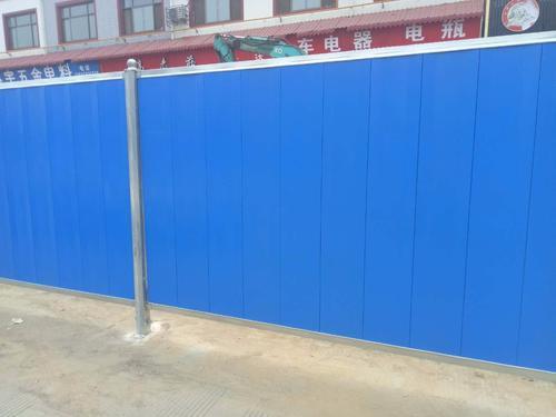 成都新型彩钢围挡施工要求