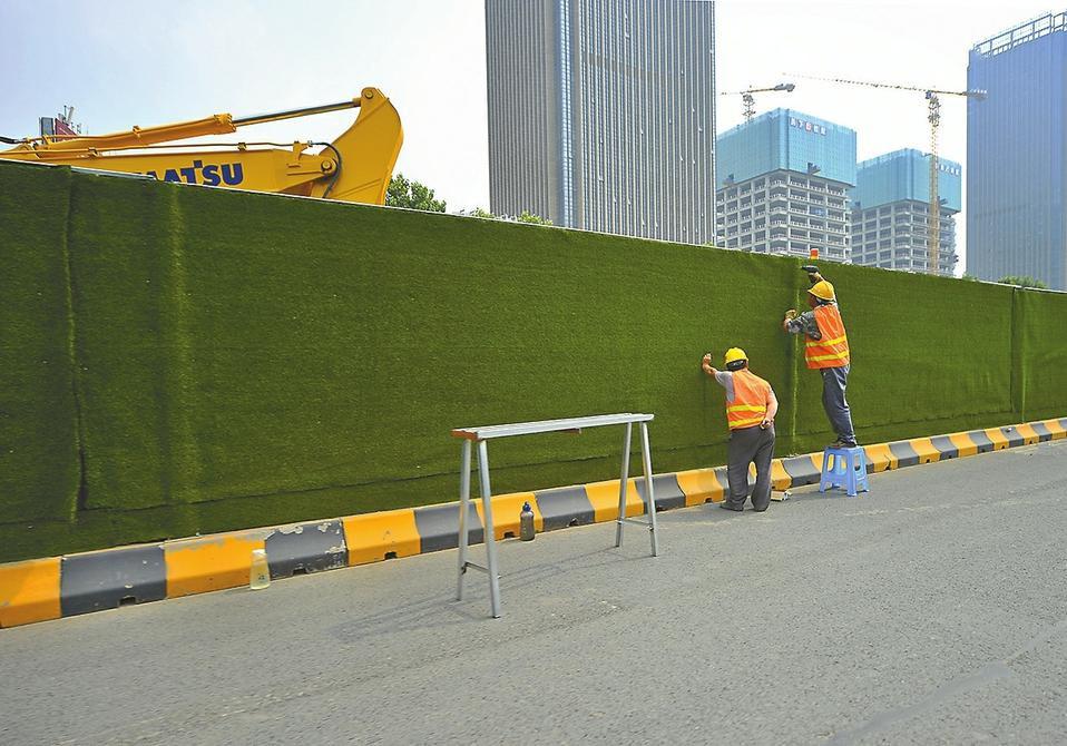 成都市政工程围挡安装