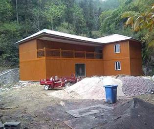 农村模块化房屋建筑