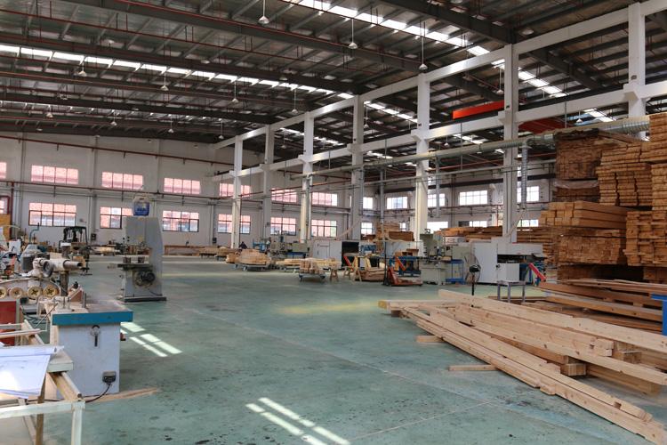 正山木业厂房加工图