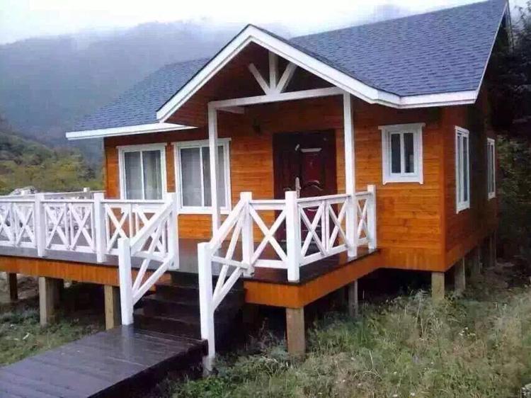 兰州防腐木木屋工程