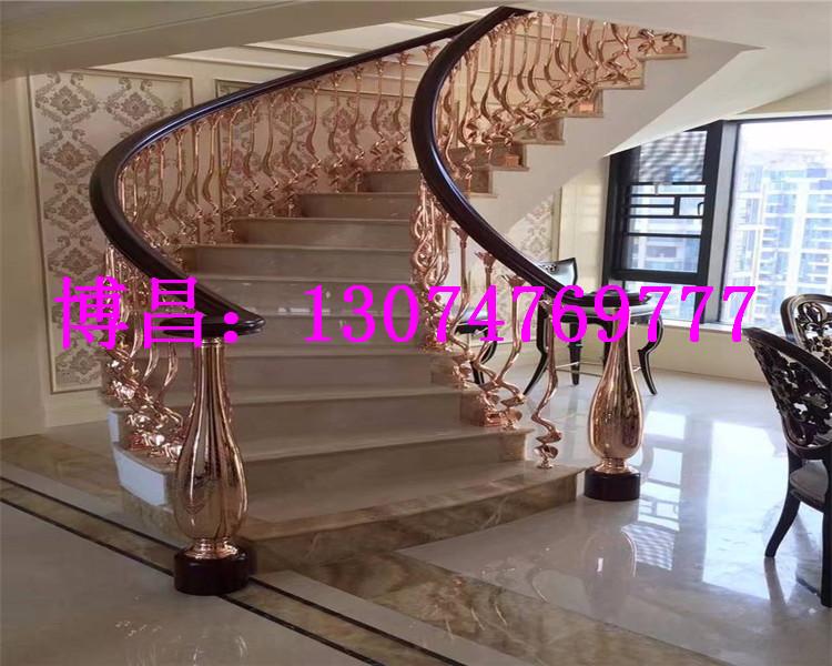 呼和浩特铝艺楼梯